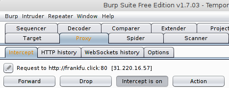 Creating a request file by burp suite – Technote